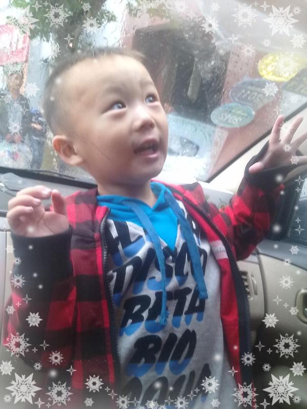 儿子3周岁生日